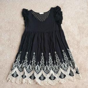 Altar'd State Black Dress